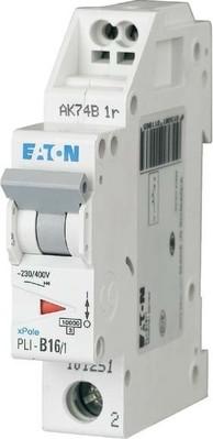 Eaton Leitungsschutzschalter B 16A, 1p Steckkl. PLI-B16/1