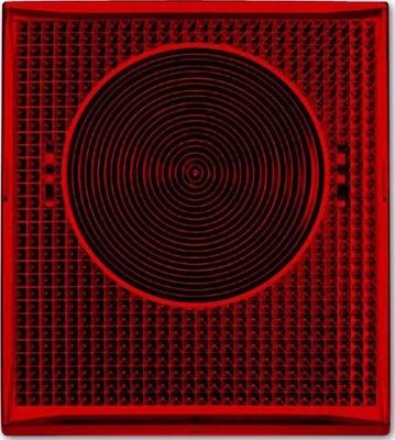Busch-Jaeger Haube rot für 2661 WS-53 2863-12-53