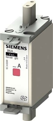 Siemens Indus.Sector NH-Sicherungseinsatz G000 50A 500AC/250DC 3NA6820