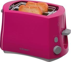 Cloer Toaster 2 Scheiben 3317-1 pink
