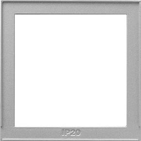 Gira Zwischenplatte aluminium 028965