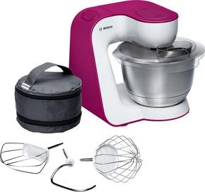 Bosch SDA Küchenmaschine StartLine MUM54P00 weiß/purple