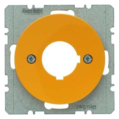 Berker Zentralplatte gb/gl f.Melde/Befehlgerät 14322006