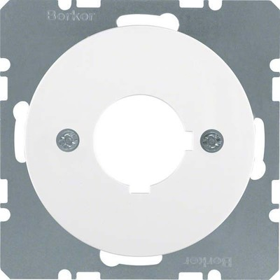 Berker Zentralplatte pows/gl f.Melde/Befehlgerät 14322089