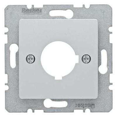 Berker Zentralplatte Alu f.Melde/Befehlgerät 14327003