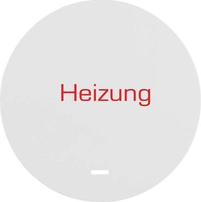 Berker Wippe pows/gl, kl Linse Heizung Notschalter 16212049