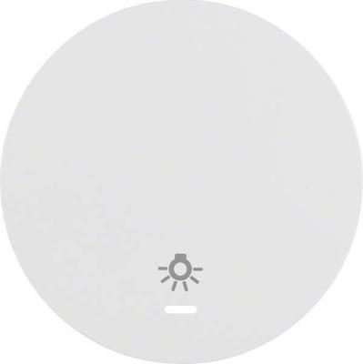 Berker Wippe pows/gl Linse/Symbol Licht 16212079