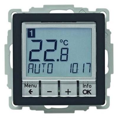 Berker Temperaturregler anth/sa m. Zentralstück 20446086