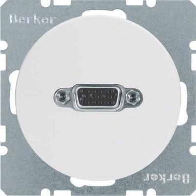 Berker VGA Steckdose pows/gl 3315402089