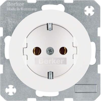 Berker SCHUKO-Steckdose pows/gl 41432089