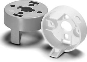 Houben Aufsteckkappe E27 weiß,Loch 10,5mm 109045