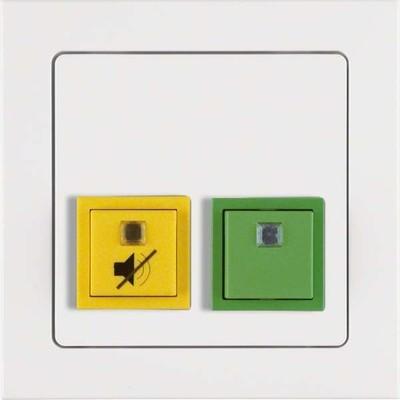 Berker Abstell-Anwesenheitstaster mit Rahmen pows/sa 52056099