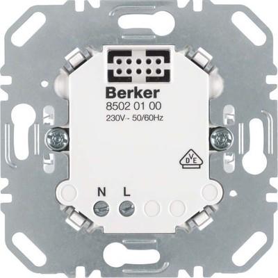 Berker Netz-Einsatz f. KNX-Funk Aufsatz 85020100