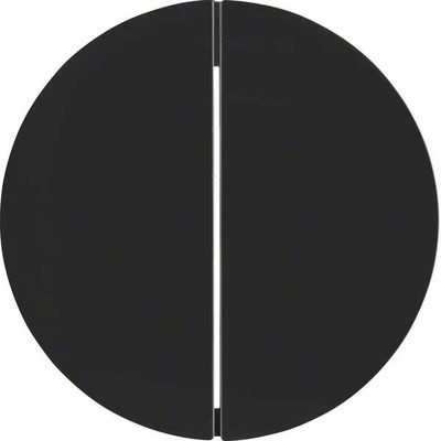 Berker Taste 2-fach ch schwarz glänzend 85142131