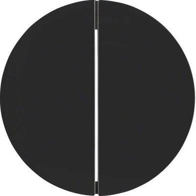 Berker KNX-Funk Taste 2-fach ch schwarz glänzend 85146131