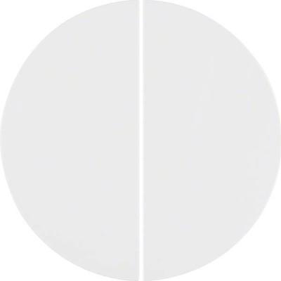 Berker KNX-Funk Taste 2-fach ch polarweiß, glänzend 85146139