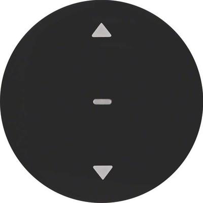 Berker Jalousie-Taste schwarz glänzend 85241131