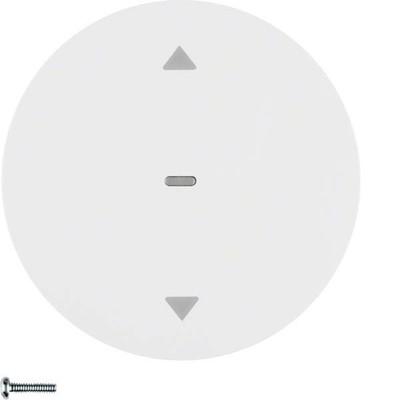 Berker Jalousie-Taste polarweiß glänzend 85241139