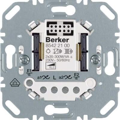 Berker Universal Tastdimmer 2-fach ch Hauselektronik 85422100