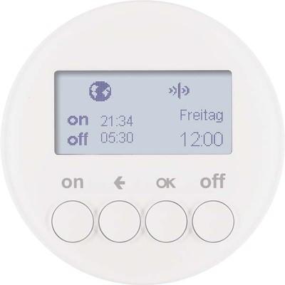 Berker KNX-Funk Zeitschaltuhr polarweiß glänzend 85745239