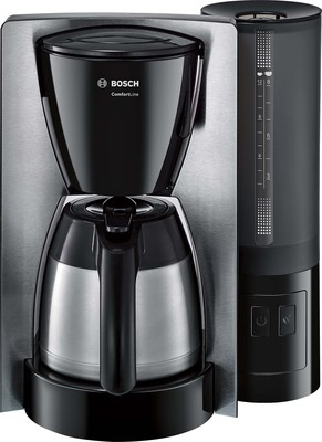 Bosch Kleingeräte+HT Thermo-Kaffeeautomat ComfortLine TKA6A683 eds/sw