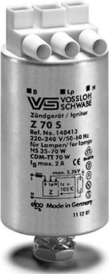 Houben Überlagerungszündgerät b.70W D35x74 aluminium 140413