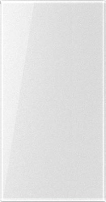 Jung Abdeckung transparent Einl.Schriftf.33x64 CD 50NA