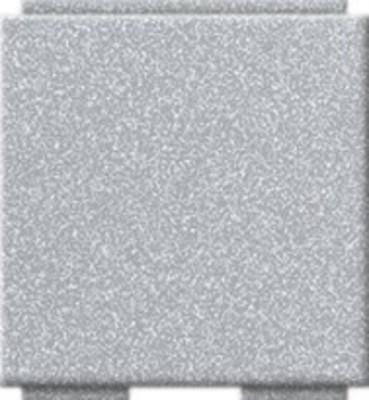 Gira Blindabdeckung Modular-Jack aluminium 264526