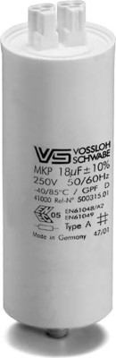 Houben Kondensator T+TC 2.5uF,250V Kunstst. 500299