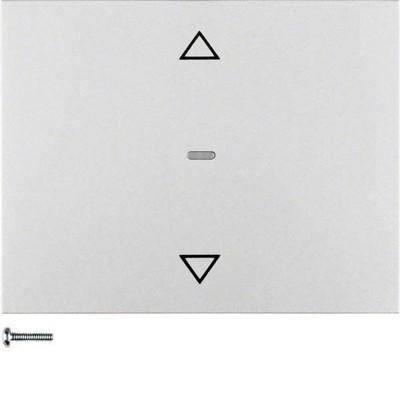 Berker Jalousie-Taste aluminium matt, lackiert 85241177