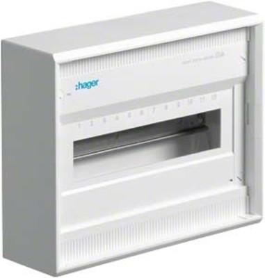 Hager Kleinverteiler, AP Volta IP30,1x12PLE,DIN4387 VA12CN