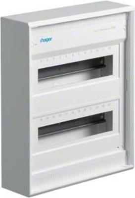 Hager Kleinverteiler, AP Volta IP30,2x12PLE,DIN4387 VA24CN