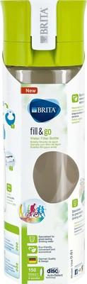 Brita Wasserfilter-Flasche 0,6L Fill Go VITAL lime