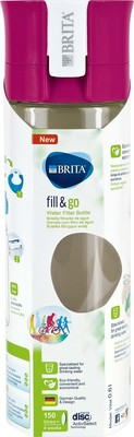 Brita Wasserfilter-Flasche 0,6L Fill Go VITAL pink