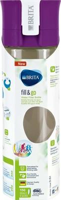 Brita Wasserfilter-Flasche 0,6L Fill Go VITAL purple