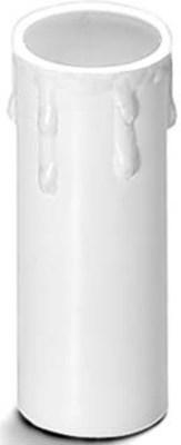 Houben Kerzenhülse E14 Tropfen,ws,85mm 100162