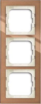 Busch-Jaeger Abdeckrahmen 3-fach braunglas 1723-283