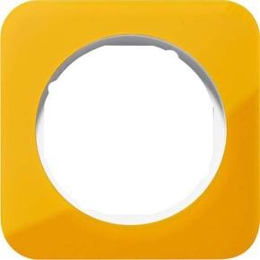Berker Rahmen 1-fach orange tr./polws glz 10112339