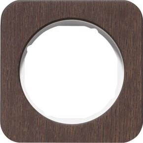 Berker Rahmen 1-fach Eichenholz/plw glanz 10112359