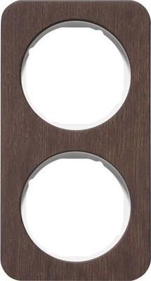 Berker Rahmen 2-fach Eichenholz/plw glanz 10122359