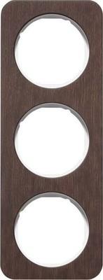 Berker Rahmen 3-fach Eichenholz/plw glanz 10132359