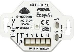 Peha Funk Empfänger 1 Kanal UP D 451 FU-EBI O.T.