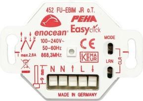 Peha Funk JR-Empfänger UP 2 Kanal, Energiemess D 452 FU-EBIM JRO.T.