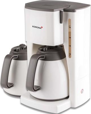 Korona electric Thermo-Kaffeeautomat +2.Kanne,1L 10310 creme/br