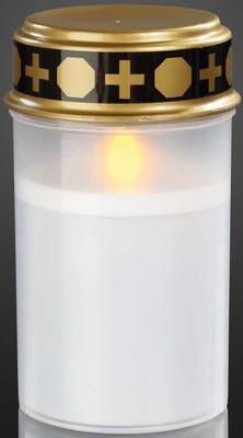 Hellum Glühlampenwerk LED-Grablicht weiß LED gelb 520385