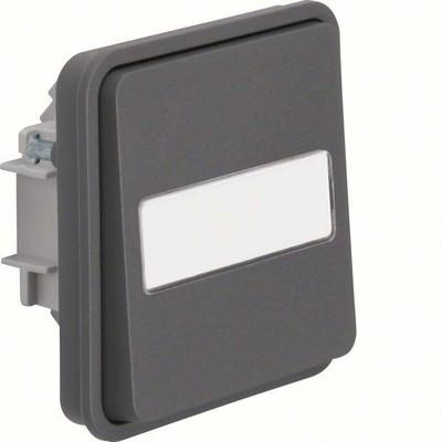 Berker Wechselschaltereinsatz mit Wippe lichtgrau 30863535