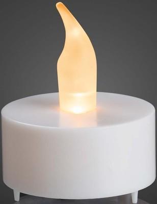 Hellum LED-Teelicht LEDs gelb weiß 520088 2-Set