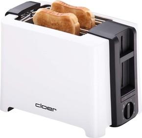 Cloer Toaster XXL 2 Scheiben 3531 weiß