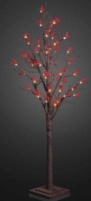Hellum LED-Baum mit Früchten 24 flg. LEDs ww 576146