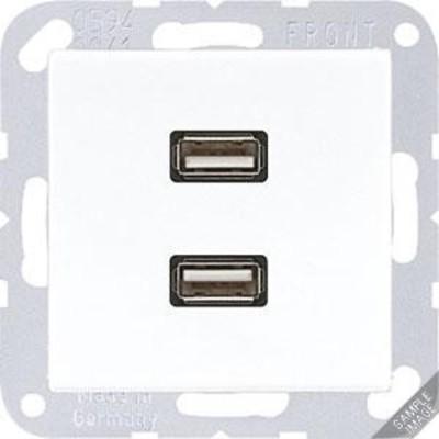 Jung Multimediadose 2 x USB anthrazit matt MA A 1153 ANM